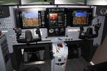 Redbird CRV Cockpit