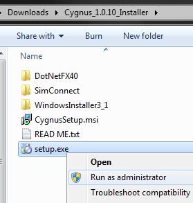 Cygnus_Installer_Admin