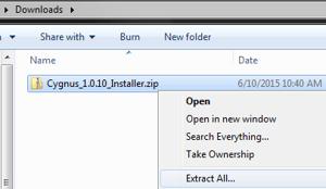 Cygnus_Installer_Extract