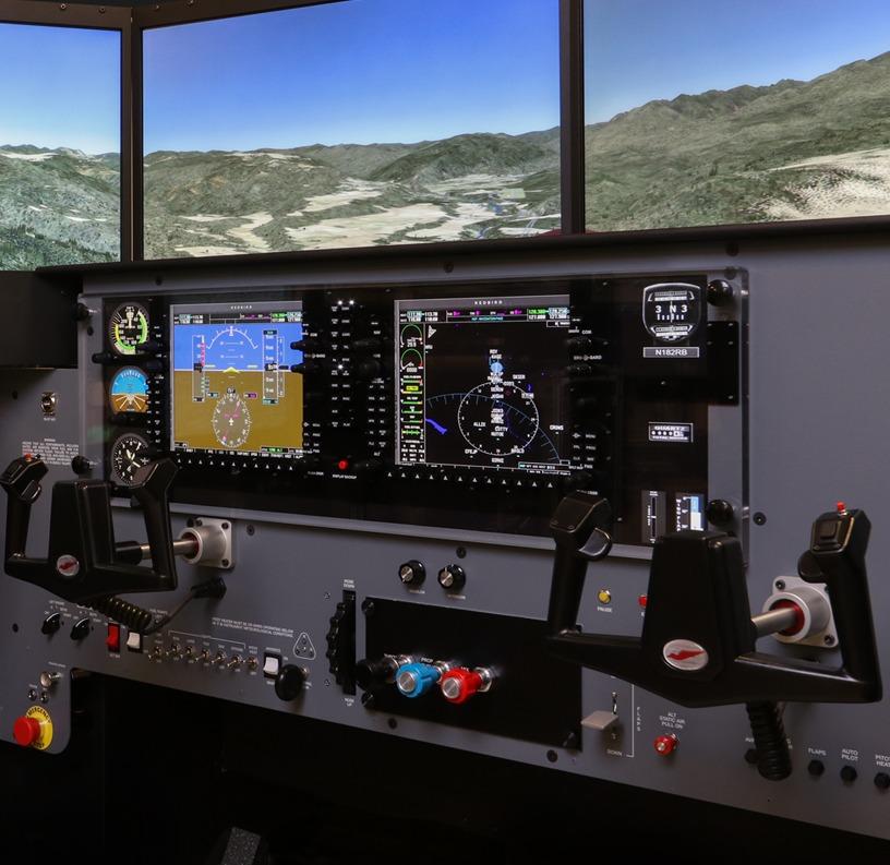 Redbird MCX Cockpit