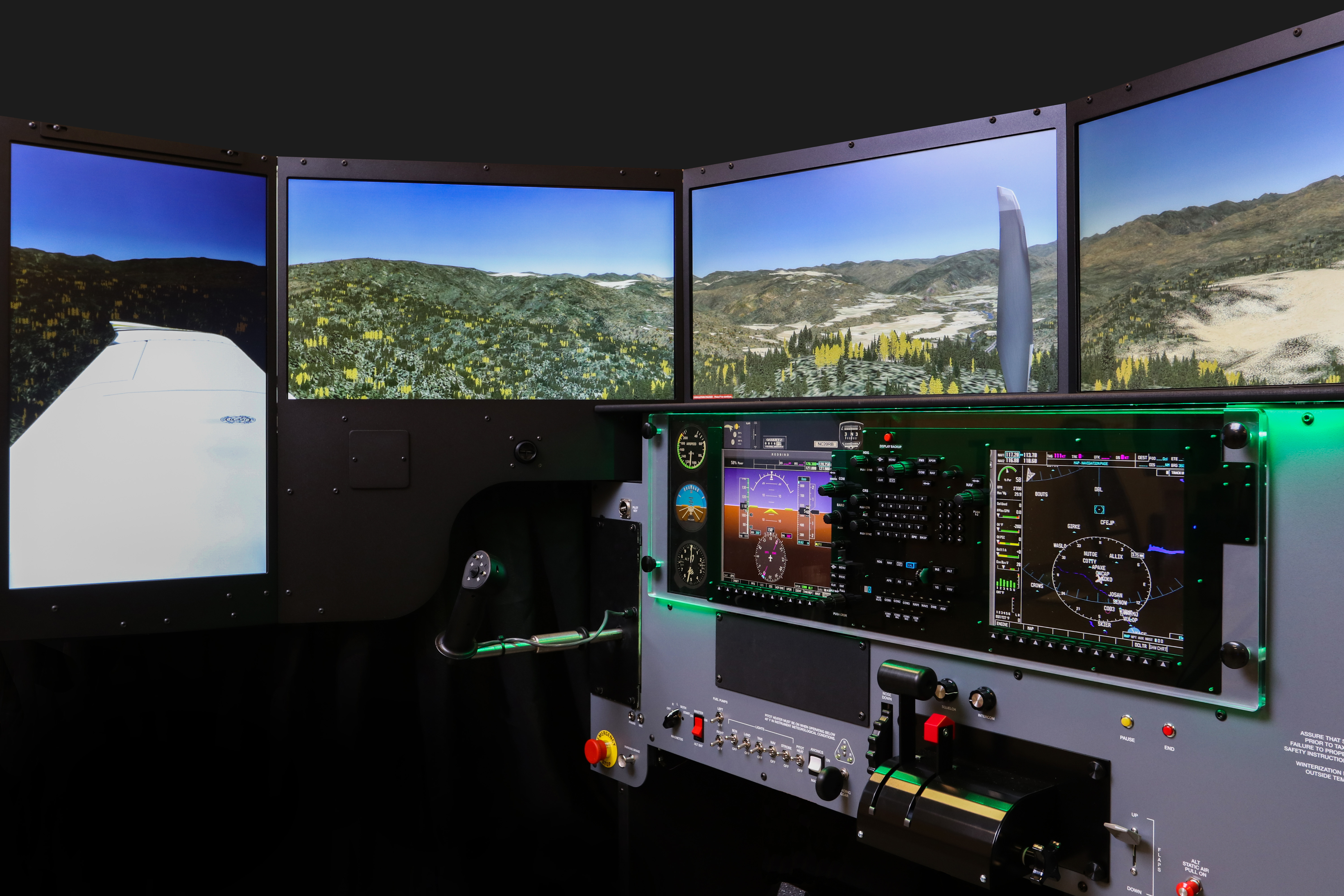 FMX configured to SR20-G Perspective