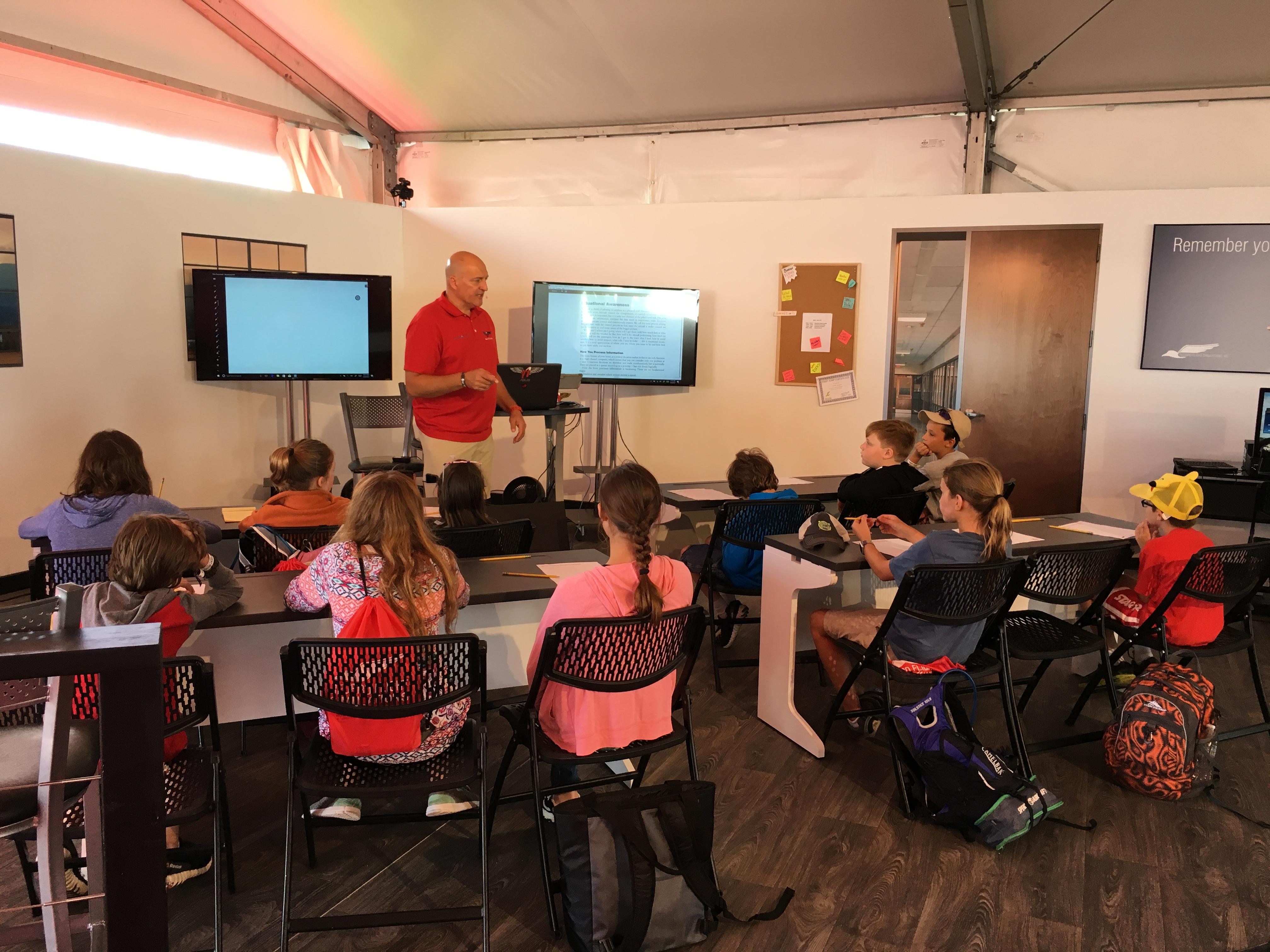 Redbird Sim Lab at EAA AirVenture Oshkosh