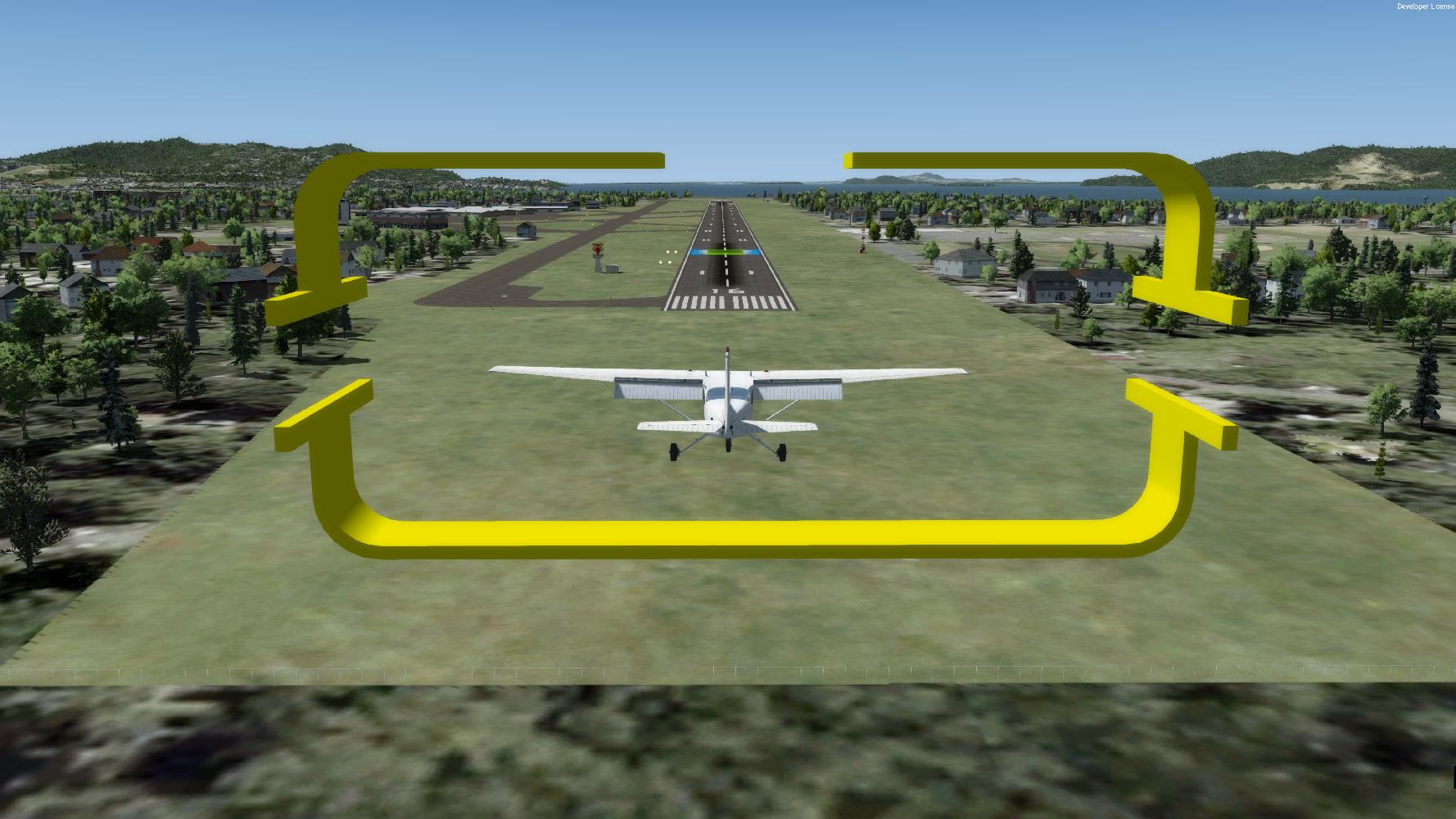 Redbird GIFT Normal Landing